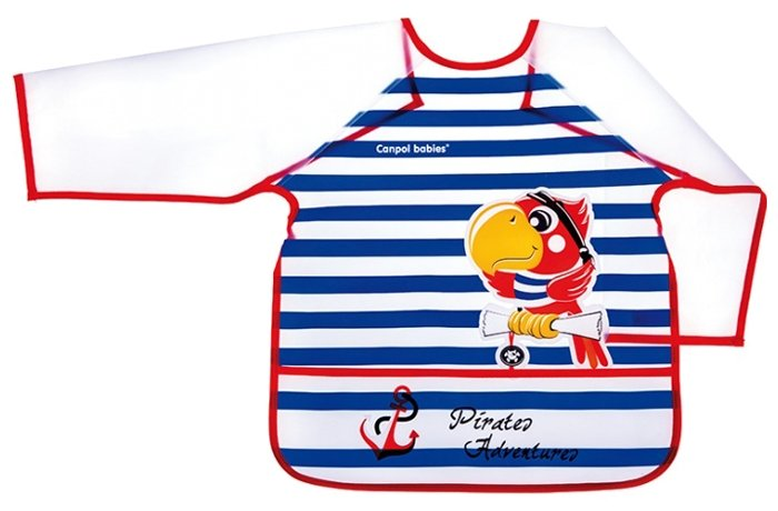 Canpol Babies Нагрудник с рукавами Apron with sleeves