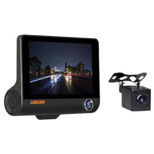 Видеорегистратор CARCAM D3, 3 камеры черный