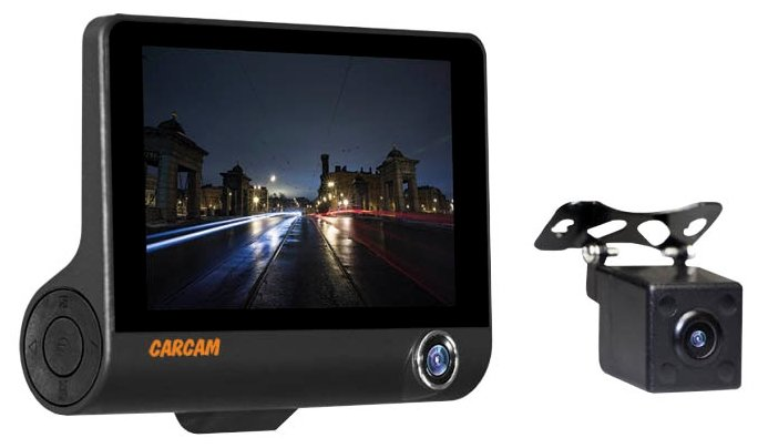 Видеорегистратор CARCAM D3, 3 камеры