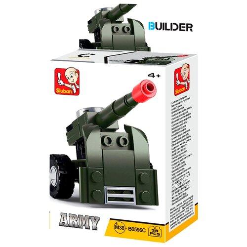 Купить Конструктор SLUBAN Builder M38-B0596С Пушка, Конструкторы