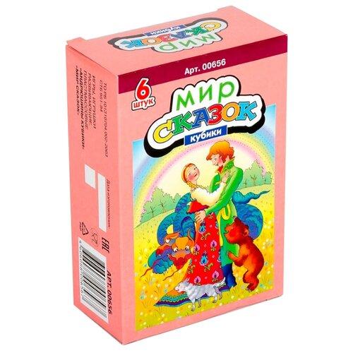 Кубики-пазлы Десятое королевство Мир сказок-3 00656