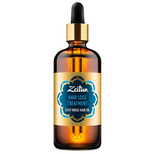 Zeitun Легкосмываемое масло Борьба с выпадением волос с черным тмином и хельбой, 100 млМаски и сыворотки<br>