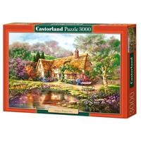 Пазл Castorland Twilight at Woodgreen Pond (C-300365) , элементов: 3000 шт.