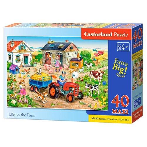 Пазл Castorland Life on the Farm (B-040193), 40 дет., Пазлы  - купить со скидкой