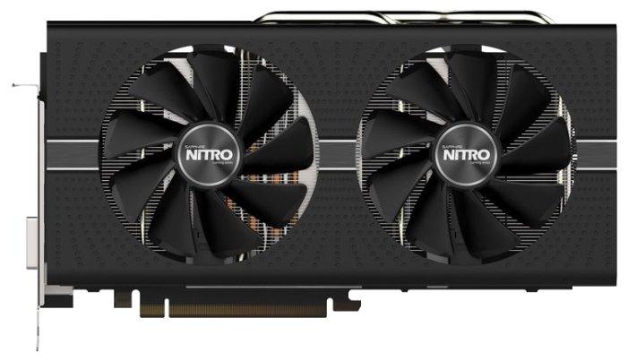 Видеокарта Sapphire PCI-Ex Radeon RX 570 Nitro+ 4GB GDDR5 (256bit) (1340/7000) (DVI, 2 x HDMI, 2 x DisplayPort) (11266-14-20G)