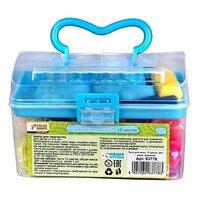 Color Puppy Тесто для лепки: 12 цветов, 204г, ролик, формочки