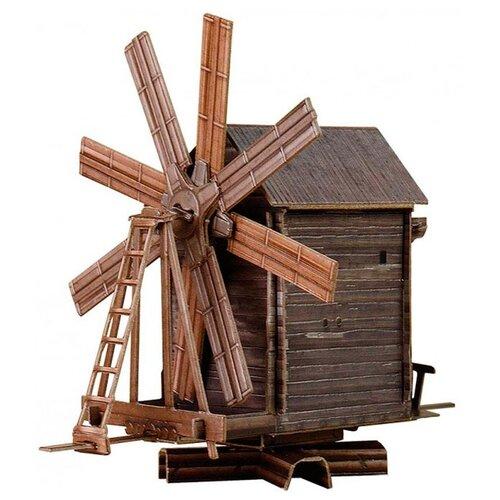 Сборная модель Умная Бумага Ветряная мельница (о. Кижи) (181) 1:87Сборные модели<br>