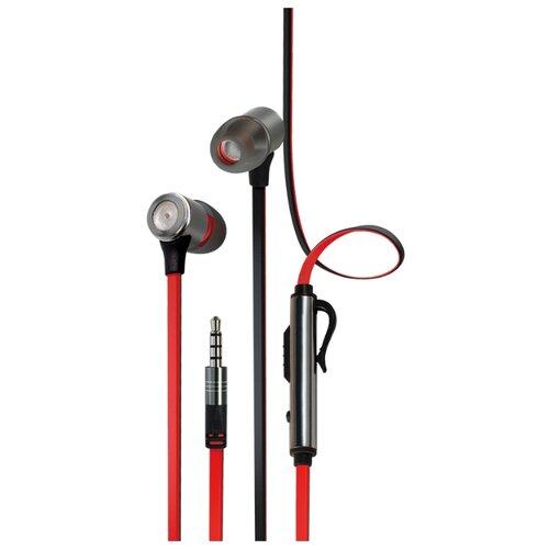 Наушники INTERSTEP BWhite Headset red/black