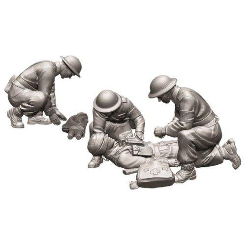 Фото - Сборная модель ZVEZDA Британские санитары 1939-1942 (6228) 1:72 сборная модель zvezda немецкий 81 мм миномет с расчетом 1939 1942 6111 1 72