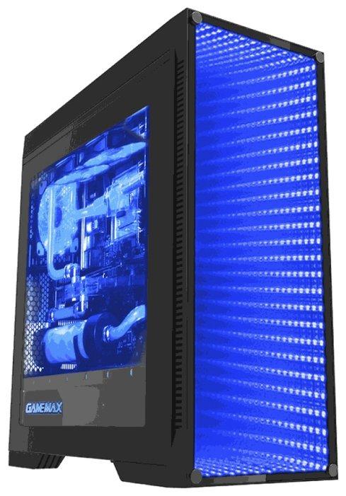 Компьютерный корпус GameMax M908 Infinity Black — купить по выгодной цене на Яндекс.Маркете