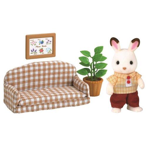 Купить Игровой набор Sylvanian Families Папа на диване 2201, Игровые наборы и фигурки