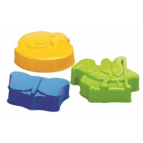 Набор Gowi 558-63 Насекомые зеленый/желтый/синий набор gowi 558 34 куличик