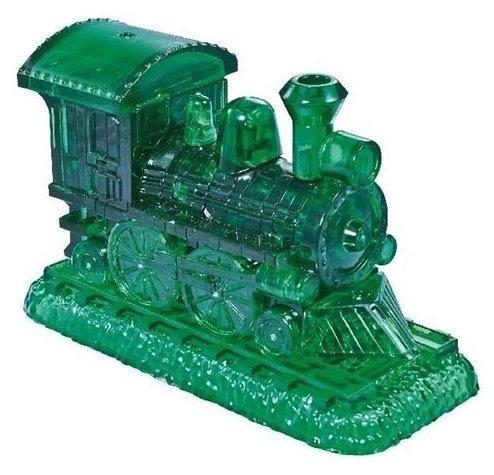 Пазл Jeruel Industrial Company Зеленый паровозик (90244) , элементов: 38 шт.