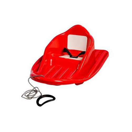 Ледянка Пластик Малыш (С58) красный, Ледянки  - купить со скидкой