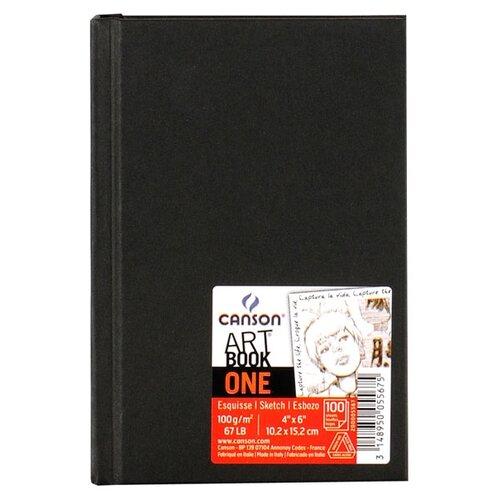 Скетчбук Canson One Art Book 15.2 х 10.2 см, 100 г/м², 100 л.
