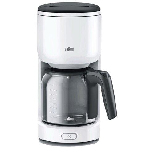 Кофеварка Braun KF 3100 белый