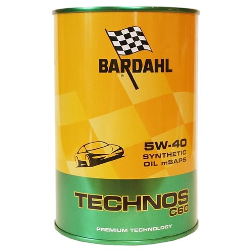 Моторное масло Bardahl Technos C60 5W-40 1 л