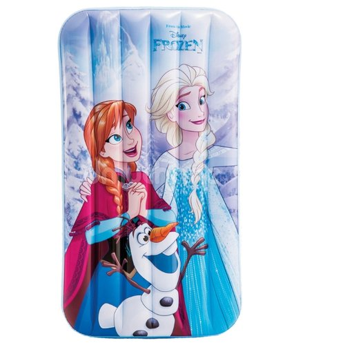 Купить Матрас надувной Intex Холодное сердце 48776 голубой/белый/фиолетовый, Надувные игрушки
