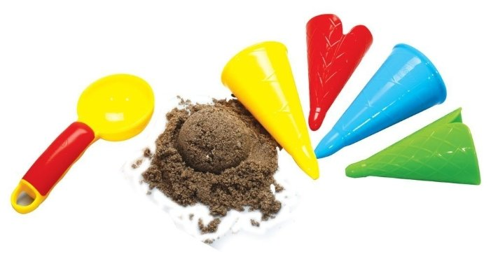 Набор Gowi 558-41 Ложка и рожки для мороженого