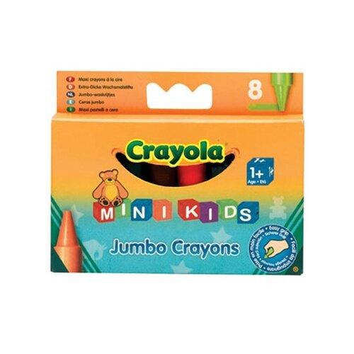 Купить Crayola Восковые мелки для малышей 8 цветов 0080C, Пастель и мелки