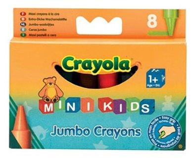 Crayola Восковые мелки для малышей 8 цветов 0080C