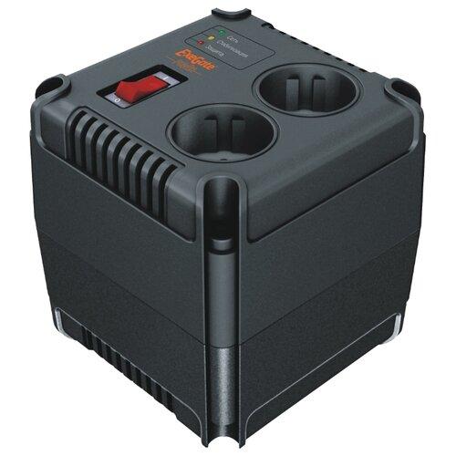 Стабилизатор напряжения однофазный ExeGate AD-500 (0.28 кВт) черный стабилизатор напряжения exegate ad 1000