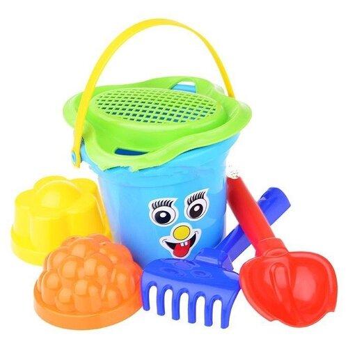 Фото - Набор Полесье №39 2310 синий/зеленый полесье набор игрушек для песочницы 468 цвет в ассортименте