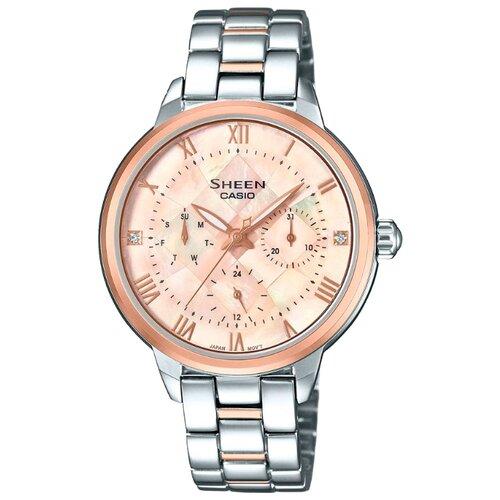 цена Наручные часы CASIO SHE-3055SPG-4A онлайн в 2017 году