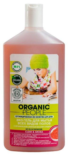 Organic People Гель для мытья всех видов полов