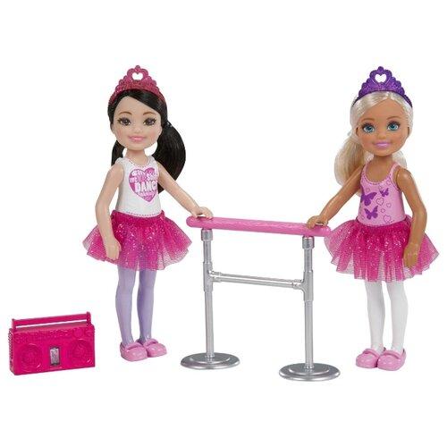 Купить Набор кукол Barbie Челси 2 Балерины, FHK98, Куклы и пупсы