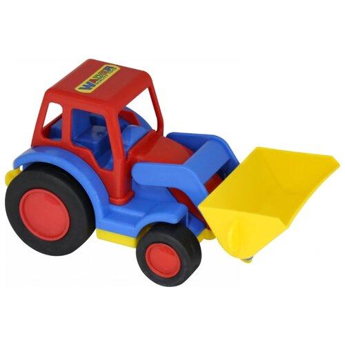 Купить Погрузчик Wader Базик (9579) в сетке 23 см, Машинки и техника