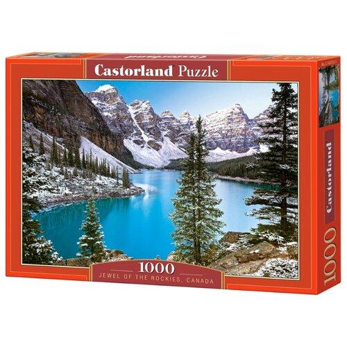 Купить Пазл Castorland Jewel of the Rockies, Canada (С-102372), 1000 дет., Пазлы