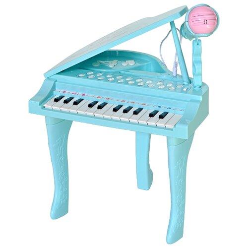 цена на Everflo музыкальный центр Рояль голубой