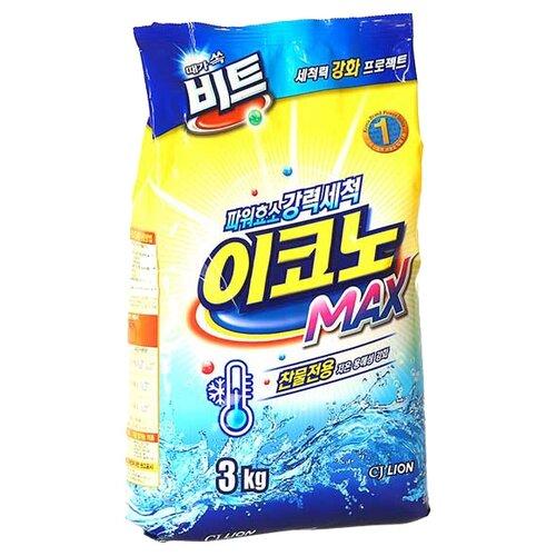 Стиральный порошок Lion Beat Econo Max 3 кг пластиковый пакетСтиральный порошок<br>