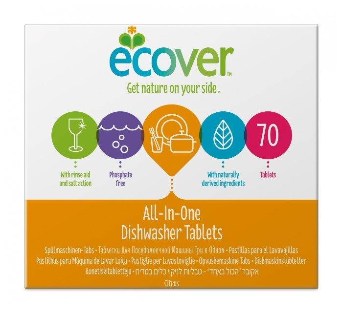 Ecover 3 в 1 таблетки для посудомоечной