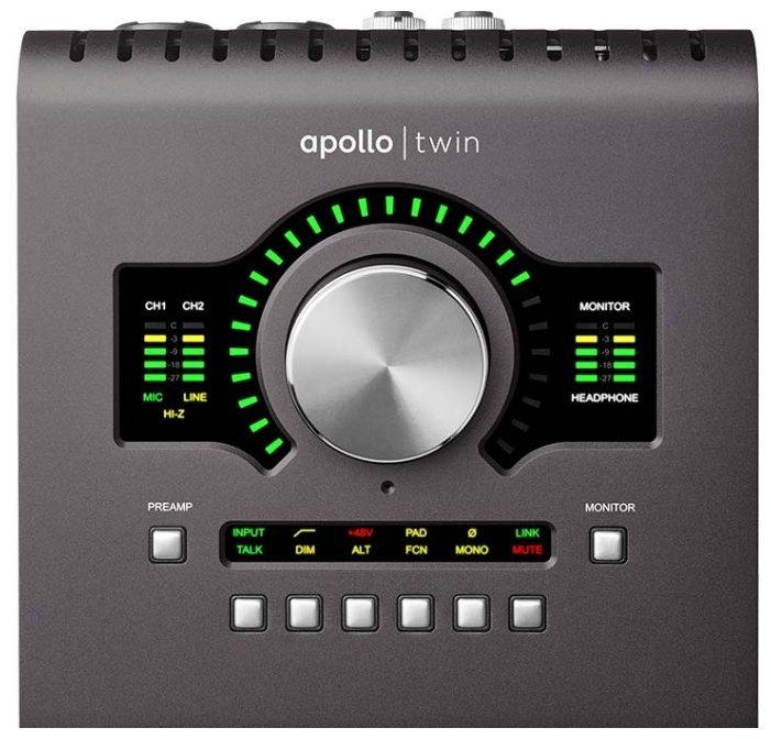 Внешняя звуковая карта Universal Audio Apollo Twin MKII DUO