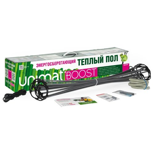 Нагревательный мат Unimat BOOST-0300 398.4Вт unimat электрический мужской мастурбатор секс игрушки для взрослых