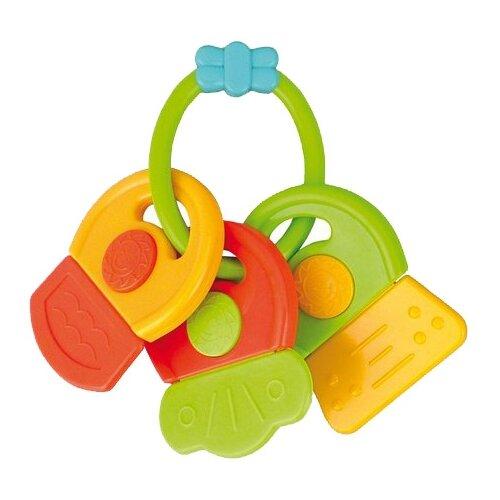 Прорезыватель-погремушка Canpol Babies Ключи 2/132 зеленые символы canpol babies погремушка прорезыватель ключи с символами цвет голубой зеленый
