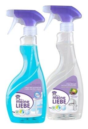 Набор Meine Liebe для сантехники и для мытья стекол