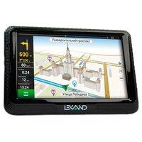 "GPS-навигатор Навигатор Автомобильный GPS Lexand CD5 HD 5"" 800x480 4Gb microSD FM-Transmitter черный Navitel 9 стран"