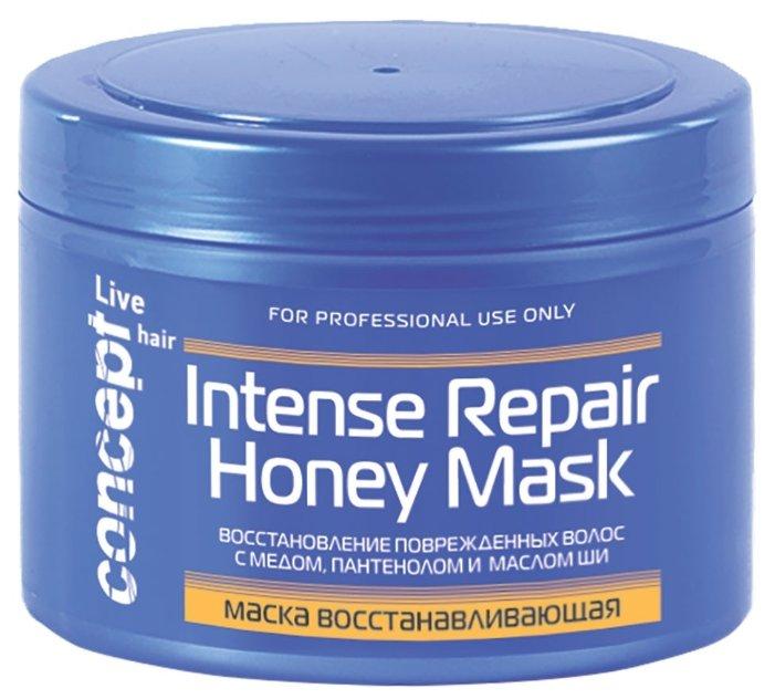 Concept Live Hair Маска восстанавливающая с медом
