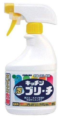 Универсальное кухонное моющее и отбеливающее пенное средство с возможностью распыления Mitsuei — в наличии, купить по выгодной цене на Яндекс.Маркете