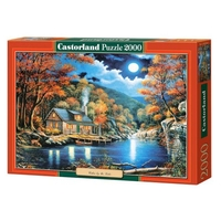 Пазл Castorland Cabin by the Lake (C-200504) , элементов: 2000 шт.