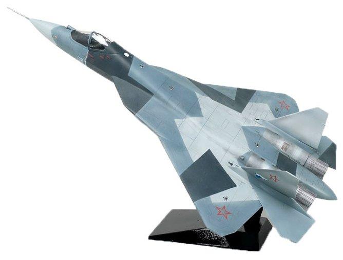 Сборная модель ZVEZDA Самолёт пятого поколения СУ-50 Т-50, 7275