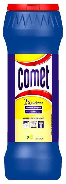 Comet порошок универсальный двойной эффект с хлоринолом лимон