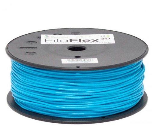 Гибкий пластик BQ FilaFlex (Blue) - Синего цвета для 3D принтера (F000085)