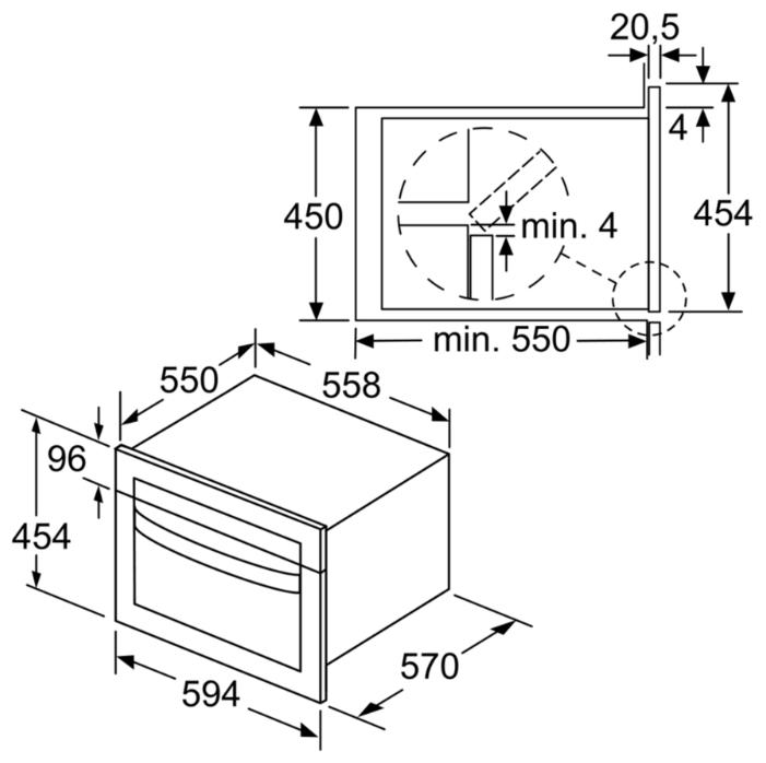 Микроволновая печь Bosch CMA585MS0
