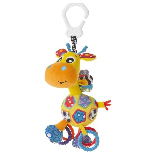 Подвесная игрушка Playgro Жираф (0186359) разноцветный playgro игрушка для ванной playgro кораблики