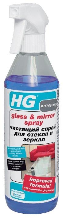 Спрей HG Glass & Mirror для стекол и зеркал