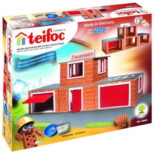 Конструктор TEIFOC Classics TEI4800 Пожарная станция